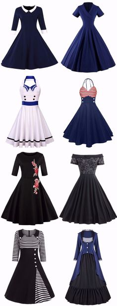 Ideas Vintage Dresses Fashion Outfit For 2019 Plus Size Vintage Dresses, Vintage 1950s Dresses, Trendy Dresses, Cheap Dresses, Cute Dresses, Beautiful Dresses, Fashion Dresses, Prom Dresses, Dress Prom