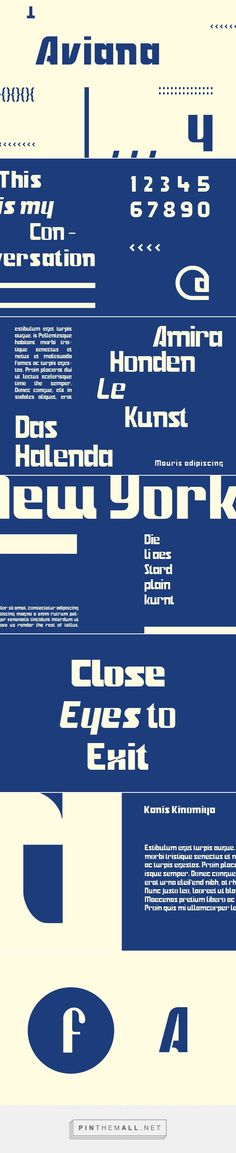 Aviana - Desktop Font & WebFont - YouWorkForThem