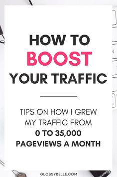 If you're finding that you spend a lot of time manually pinning on Pinterest and your blog isn't gaining any traction, learn my strategy on how to increase your blog's pageviews and skyrocket your traffic. I went from 0 to over 35,000 pageviews in just a few months and you can too! | tailwind | boardbooster | explode your traffic | page views | productivity | promote your blog | blog traffic | blog promotion | traffic tips | tailwind tribes | group boards