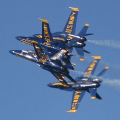"Very Tight Blue Angels ""Tuck Under Break"""