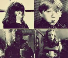 Image uploaded by Find images and videos about harry potter, emma watson and hermione granger on We Heart It - the app to get lost in what you love. Harry And Ginny, Ron And Hermione, Ron Weasley, Harry Potter Magic, Harry Potter Love, Saga, Yer A Wizard Harry, Fantastic Beasts And Where, Daniel Radcliffe