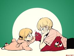 Lota and Jean Otus from ACCA 13-ku Kansatsu-ka