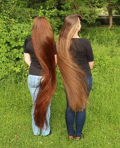 Really Long Hair, Super Long Hair, Beautiful Long Hair, Gorgeous Hair, Straight Red Hair, Rapunzel Hair, Extreme Hair, Silk Hair, Long Braids