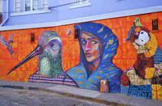 Valparaiso: Street Art From South America's Most Unusual City