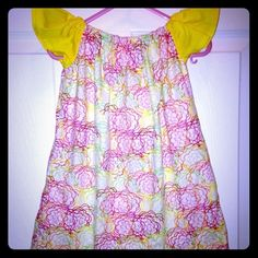"Selling this ""Pink/green/yellow swirl peasant dress"" in my Poshmark closet! My username is: kadence_kloset. #shopmycloset #poshmark #fashion #shopping #style #forsale #Kid Boutique #Dresses & Skirts"