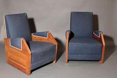 André SORNAY (1902-2000) André SORNAY (1902-2000)<br/> Paire de fauteuils e