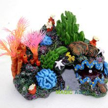 Do Aqua colorido de resina Artificial mar marinha Coral para tanque de peixes de aquário decoração paisagismo(China (Mainland))