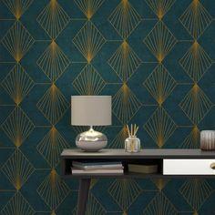 papier peint theodore vinyle sur intiss imprim plumes. Black Bedroom Furniture Sets. Home Design Ideas