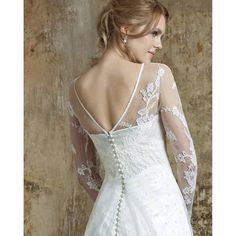Our gorgeous  Clover dress in #silk duchess satin with  French #cordedlace. #weddingdress #wedding #engaged  #huntthatdress #luxury #madeinengland