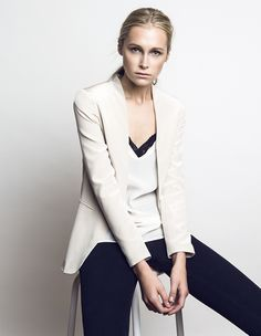 summer 2014 | juliette hogan photography guy coombes styling rachel morton Russian Models, Summer 2014, Blazer, Jackets, Fashion Design, Shopping, Collection, Guy, Women