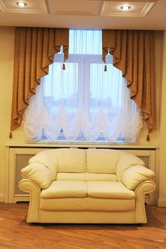 Looking to spice up your home decor? Hanging Curtains, Curtains With Blinds, Valance Curtains, Valances, Curtain Styles, Curtain Designs, Rideaux Design, Custom Blinds, Beautiful Curtains