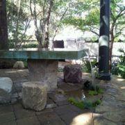 Pasadena Concrete Water Feature Table