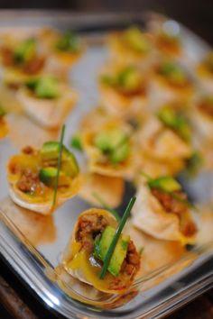 Mini Mexican quiches