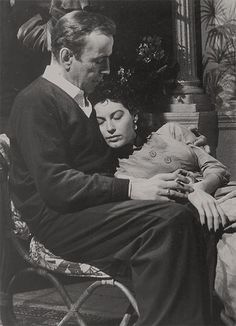 Humphrey Bogart & Ava Gardner in The Barefoot Contessa