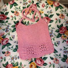 A personal favorite from my Etsy shop https://www.etsy.com/listing/253620219/feather-and-fan-knit-lacework-baby-bib