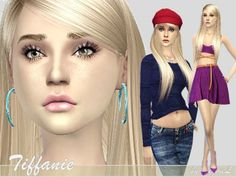 The Sims Resource: Tiffanie � Teen � Sims 4 Downloads