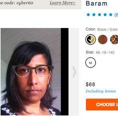 c89ca86abc4 Glasses USA Baram Leopard 48- 19- ht 36  68