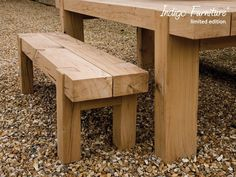 Oak Beam Bench