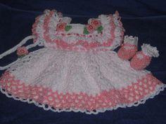 crochet baby dresses - Google Search