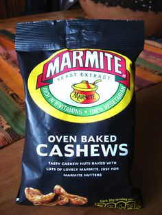 Marmite every way you can imagine it...