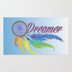 Dreamer Area & Throw Rug by Salina Ayala - $28.00