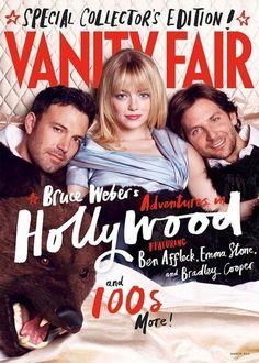 Vanity Fair magazine Bruce Webers adventures in Hollywood Emma Stone Cooper