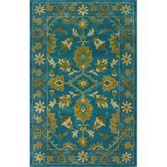 nuLOOM Overdye Turquoise Overdyed Rug   AllModern