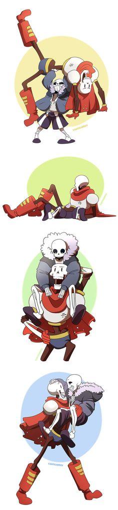 Goofy Skeletons Bros 2 by YAMsgarden.deviantart.com on @DeviantArt