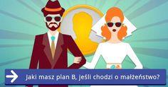 Jaki masz plan B, jeśli chodzi o małżeństwo? Ronald Mcdonald, How To Plan, Fictional Characters, Art, Art Background, Kunst, Performing Arts, Fantasy Characters, Art Education Resources