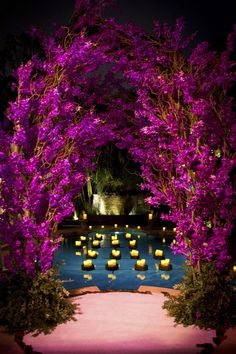 This is great for outdoor wedding decorations #purple #wedding #flower