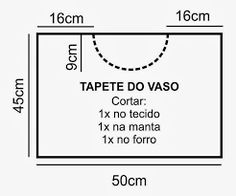 Resultado de imagem para jogo de banheiro em tecido atoalhado passo a passo