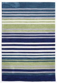 Vivid Colors, Colours, Turquoise Rug, Transitional Rugs, Blue Green, Blue Gold, Striped Rug, White Rug, Contemporary Rugs