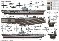 USS Intrepid CVS 11 Color Profile and Paint Guide Added