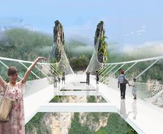 Estrela da Manhã: Ponte de Vidro