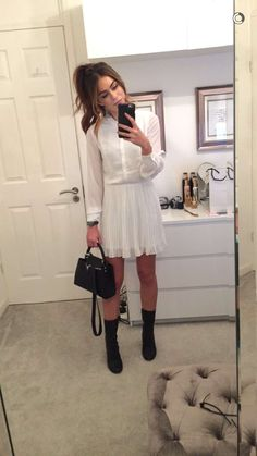 Chiara edit: Sweet yet chic Cute Fall Outfits, Chic Outfits, Spring Outfits, Fashion Outfits, Lydia Elise Millen, Spring Street Style, Celebrity Dresses, Autumn Winter Fashion, Beautiful Outfits
