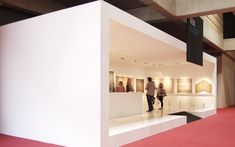 azul acocsa > museum > construmat'11 | Industrial and corporate interior design, Barcelona - COMPEIXALAIGUA DESIGNSTUDIO