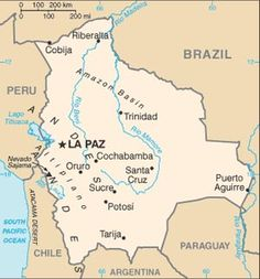 Bolivia.....FYI....the star should be on Sucre AND La Paz!