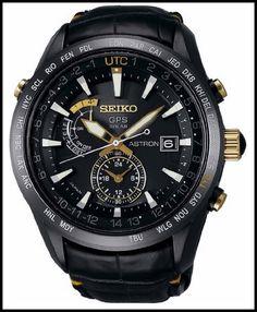 Seiko Astron Solar GPS 100th Anniversary Men's Watch SBXA100