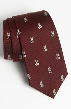 Psycho Bunny Woven Silk Tie available at #Nordstrom