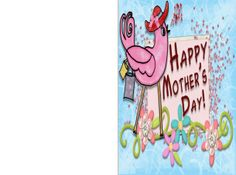 Check out these free printable Mother's Day Card!