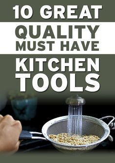 Must Have Kitchen Gadgets and Tools
