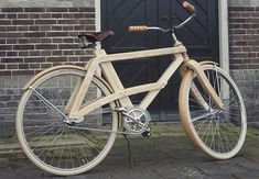 Beautiful Handmade Wooden Bicycles by Sman Cruisers
