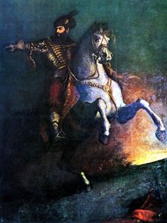 Wallachian prince Michael the Brave, during a campaign against the Turks in the autumn of 1594. He conquered citadels of Giurgiu, Brăila, Hârşova, and Silistra, while his Moldavian allies defeated the Turks in Iaşi and other parts of Moldavia. Mihai continued his attacks deep within the Ottoman Empire, taking the forts of Nicopolis, Ribnic, and Chilia and even reaching as far as Adrianople. At one point his forces were only 24 km from Constantinople, the capital of the Ottoman Empire!