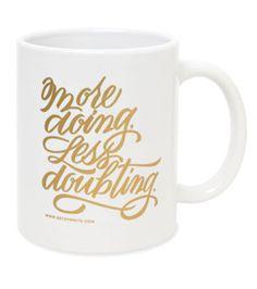 'More Doing' Mug