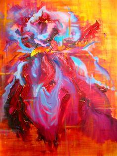 "LOVE this!!!! Wendy. Saatchi Online Artist: Ginny Blakeslee Breen; Oil, 2008, Painting """"Luminous Beauty"""""