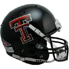 Texas Tech Red Raiders NCAA Replica Full Size Helmet