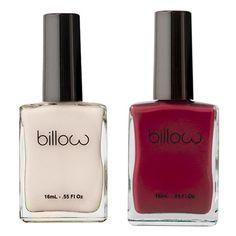 Billow Candy Cane Nail Polish Duo (2.160 RUB) ❤ liked on Polyvore featuring beauty products, nail care, nail polish, makeup, nails and beauty