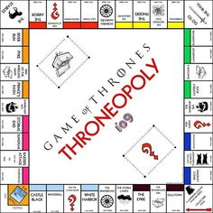 Game of Thrones: El Monopoly