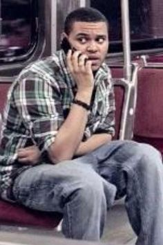 The Weeknd on the phone