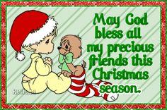 May God bless all my precious friends this Christmas season....